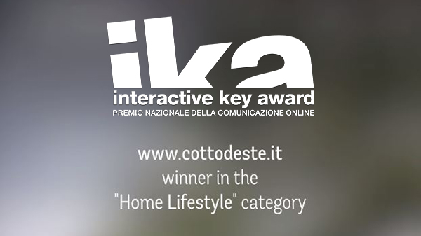 cotto-d'este-wint-de-interactive-key-award